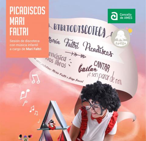 Cartel Picadiscos MariFaltri