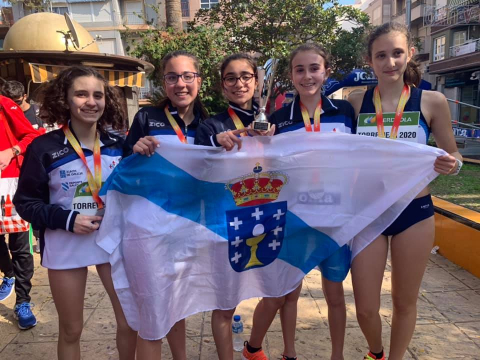 Club Atletismo Millaraio obtén 5 medallas
