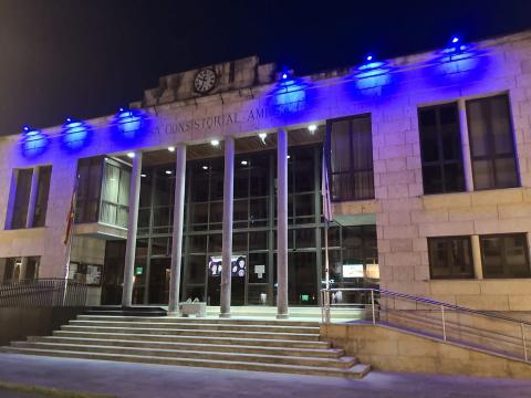 Imaxe da fachada da Casa do Concello de 2019