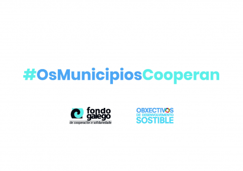 Cartel campaña #OsMunicipiosCooperan