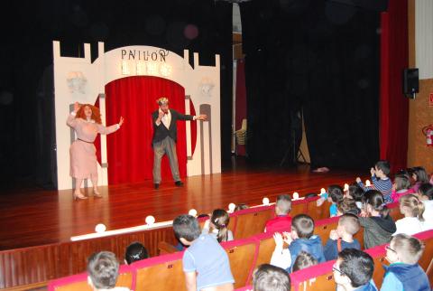 Imaxe de arquivo do espectáulo Pavillón Lino de Caramuxo Teatro