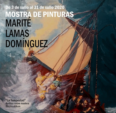 Mostra de pinturas - Marité Lamas Domínguez