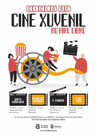 Cine ao aire libre en Bertamiráns