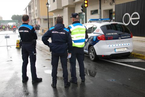 A Policia Local sancionou a 42 persoas por non levar máscara