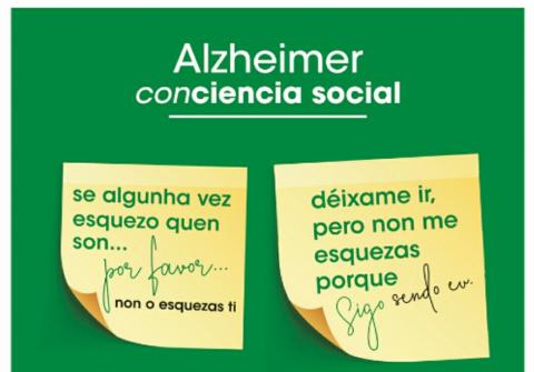 Cartel campaña Alzheimer.