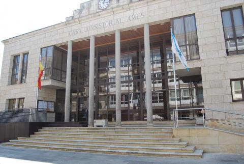 O Concello de Ames pecha o exercicio 2019 cun superávit de 1.270.000 euros e un remanente de tesourería de 9.250.000 euros