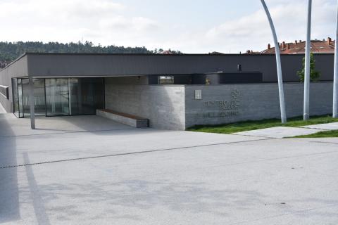 Imaxe do novo centro de saúde do Milladiro