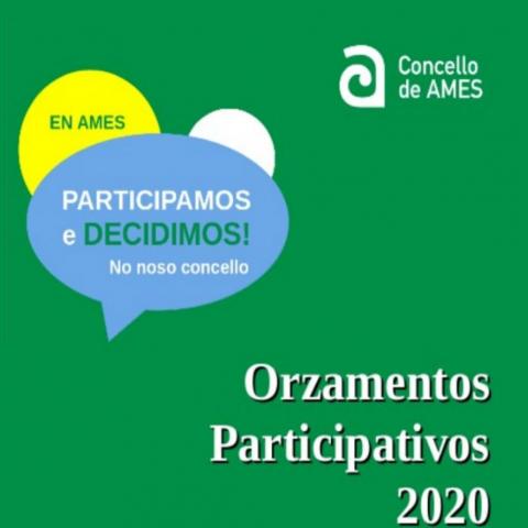 Aberto ata o vindeiro 13 de decembro o proceso de votación dos Orzamentos Participativos 2020 do Concello de Ames