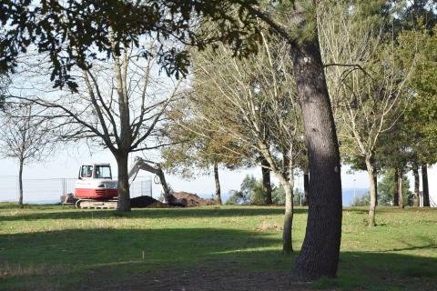 Zonas verdes Milladoiro.