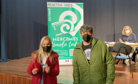 Imaxe do vídeo de promoción das tarxetas-bono Merc@mes