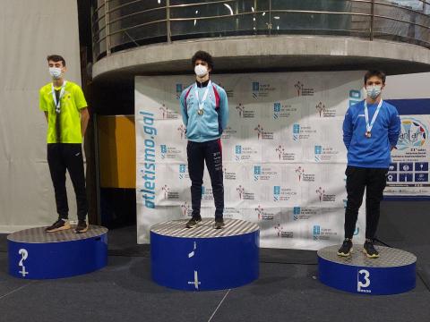 Daniel Cariñera bronce 200m.