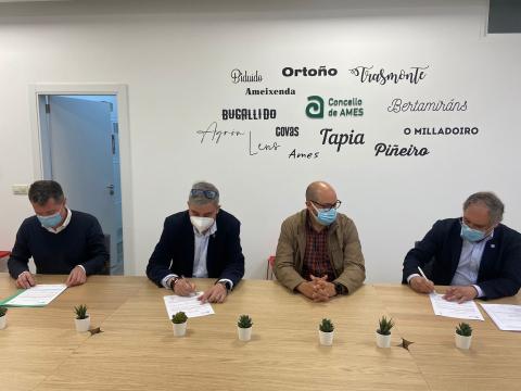 Imaxe da sinatura do acordo