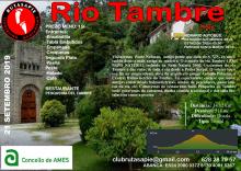 A asociación amesá Rutasapie organiza unha ruta polo río Tambre
