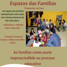 Imaxe Espazos das Familias - Preescolar na casa