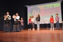 Imaxe da Gala de Rosalía de Castro