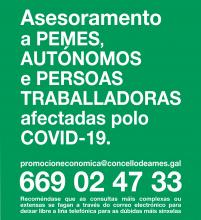 Cartel asesoramento laboral COVID-19