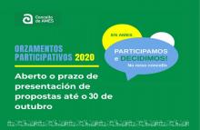 Cartel orzamentos participativos.