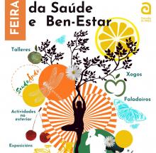 Cartaz da Feira da Saúde e Ben-Estar