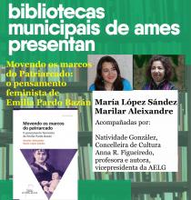 """Cartaz da presentación da obra """"Movendo os marcos do patriarcado"""""""