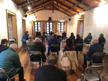 Imaxe da xuntanza coas asociacións veciñais do rural