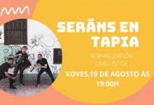 Volve a Foliada con Apego este xoves, 19 de agosto, nos Seráns de Tapia