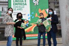 O Concello de Ames presenta a cuarta edición do Premio Lingua e Empresa que promove o uso do galego na actividade empresarial amesá