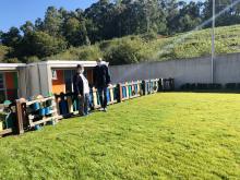O Concello executa obras na Galiña Azul do Milladoiro por valor de máis de 6.000 euros