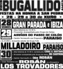 cartel festas San Pedro de Bugallido