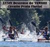 Cartel do XXXIV Descenso do Tambre – Circuíto da praia fluvial de Tapia