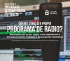 Cartel da convocatoria de radio cidadá