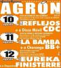 Cartel das festas de Agrón