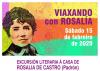 Imaxe do cartel da excursión literaria á Casa de Rosalía de Castro