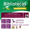 Cartel programación de marzo bibliotecas