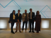Imaxe do acto de entrega de premios á Responsabilidade Social Empresarial de Galicia