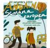 Cartel informativo da andaina pola senda verde O Milladoiro – Bertamiráns do día 20 de setembro